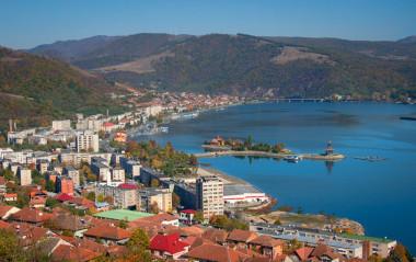 Orsova - oras de-a lungul Dunarii