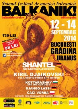 Festivaluri in Bucuresti - Balkanik Fest