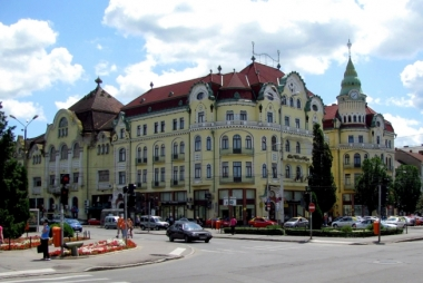 Palatul Vulturul Negru - Oradea, judetul Bihor