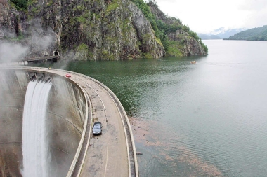 Barajul Vidraru - judetul Arges