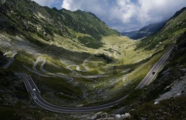 Peisaje din Romania-Transfagarasan
