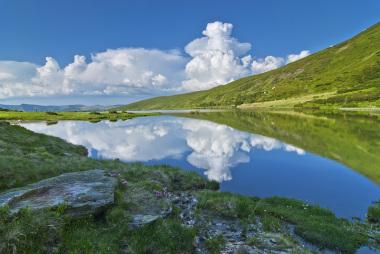 Lacul Stiol, Muntii Rodnei