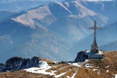 Crucea Caraiman - Platoul bucegi