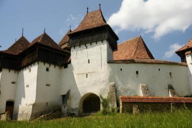 Viscri -  unul dintre satele sasesti din Transilvania