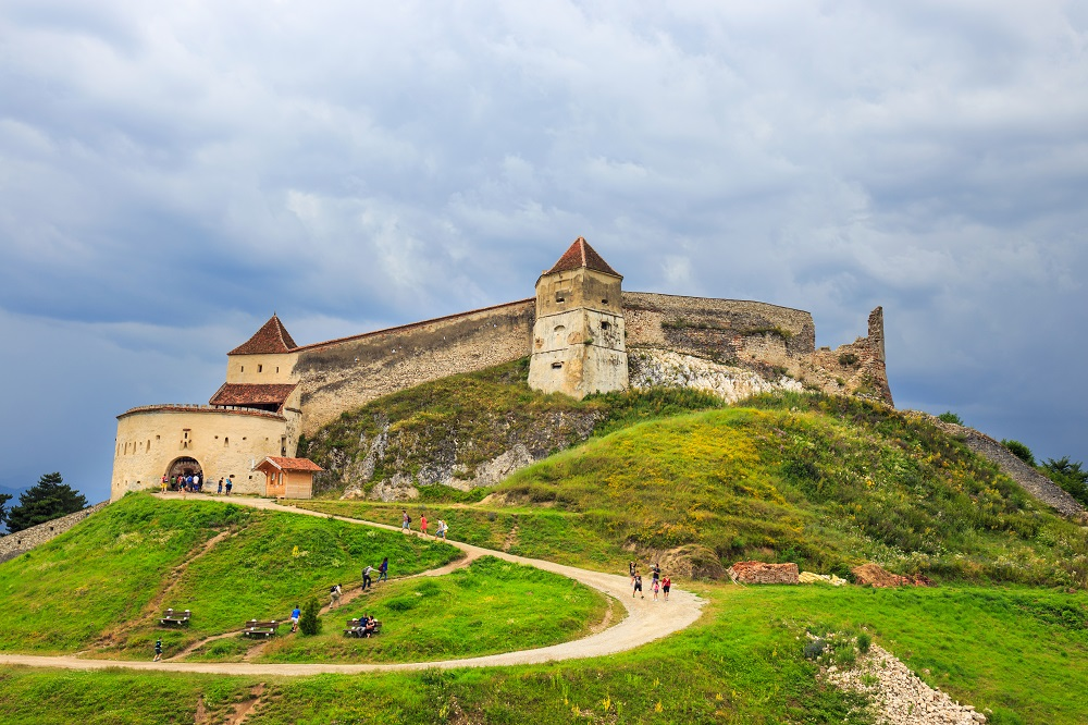 Cetatea RAsnov, foto Dziewul