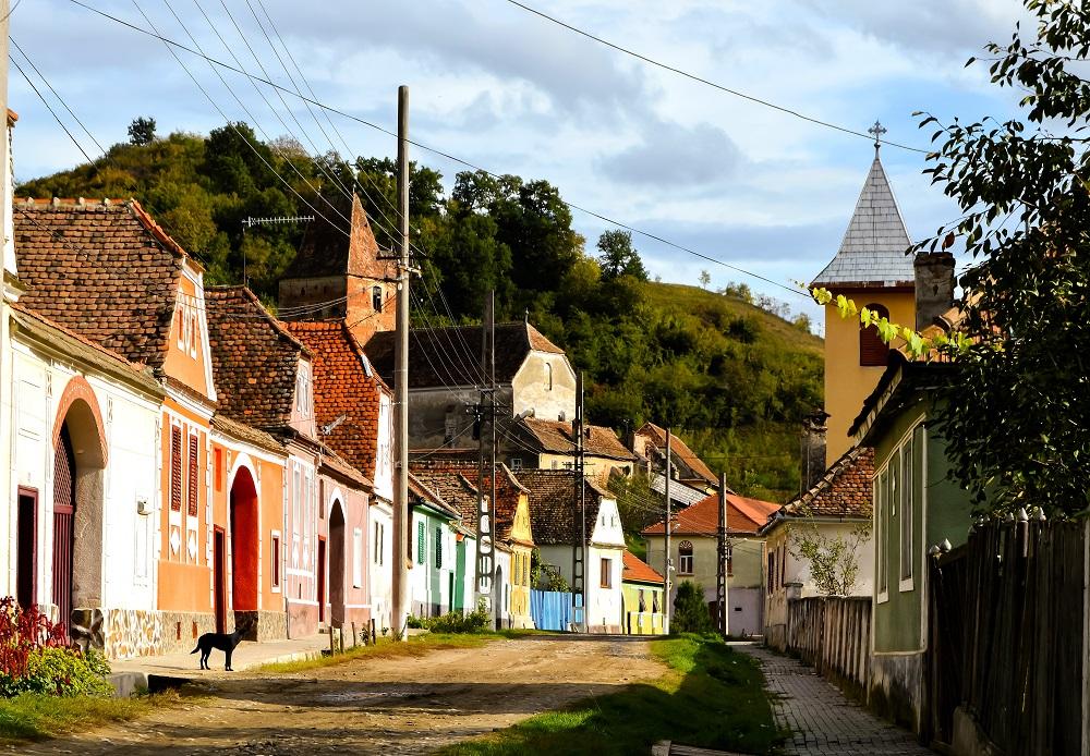 Sat in Transilvania, foto teomoldo