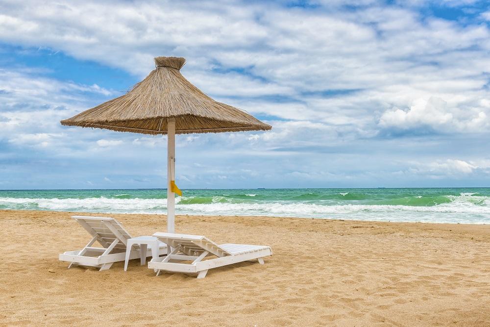 Plaja din Mamaia, foto Daniel Caluian